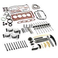 엔진 재구성 오버홀 피스톤 밸브 씰 키트 VW Audi 2.0TFSI CNC CHH CNT