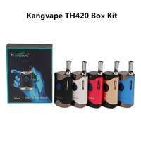 Kangvape TH-420 Starter Kit 650mAh TH420 Battery Box Mod 0.5ml K1 Ceramic Thick Oil Car Kit Serbatoio 100% autentico