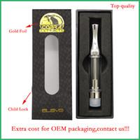 510 Leere Vape Pen-Patronen OEM Kundenspezifische Logo-Verpackungseinheit Gold 92a3 nachfüllbar Keramik Spule Glas Zerstäuber dickes Öl wickless Verdampfer Stift