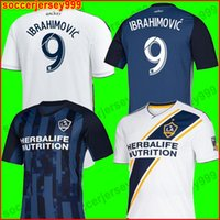 TOP thailand NEW 19 20 IBRAHIMOVIC LA Galaxy soccer jersey L...