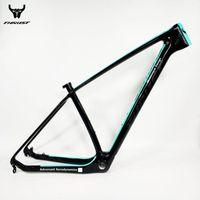 Bisiklet Çerçeveleri 2021 Thrust Karbon Çerçeve 29er 15 17 19 MTB 29 ER BSA BB30 Bisiklet Max Yük 250 KG 2 Yıl Garanti 12 Renk Satılık