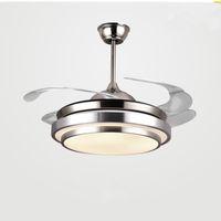 Современные Потолочные вентиляторы Лампы Лампы Пульт дистанционного управления