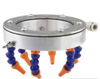 Runde Düse Wasserkühlung Universalsprühring Kühlmittelschlauch für CNC-Frässpindel-Teile