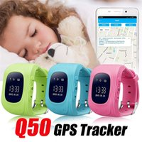 Q50 smart Watch LCD GPS Tracker for Child Kid SOS Safe Call ...