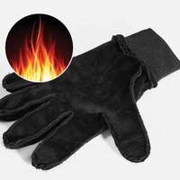 Calentar los guantes de invierno de la motocicleta Scooter Guantes deportivos Guantes impermeables antideslizantes termo fiets Handschoen invierno Guantes