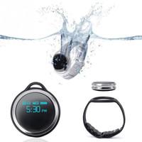 E07 natación inteligente reloj pulsera 24/12 horas sistema collar banda podómetro Fitness reloj paso contador reloj inteligente para Android iPhone