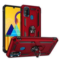 Armure militaire dur PC Phone Case pour Samsung Galaxy Note 20 Ultra S20 FE A71 A51 A41 A31 A21 5G A11 A21S A01 Pare-chocs Caver