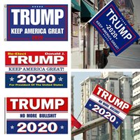 90x150cm Bandiera Trump 2020 Stampa Keep America Great Banner Garden Decor per President USA American Donald Flag AAA1998