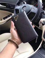 0801 tamaño 19 cm 10 cm 2.5 cm envío gratis global clásico estilo retro lujo a juego cuero real tarjeta de clip de billetera de los hombres de más alta calidad