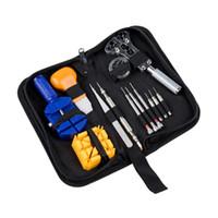 13pcs Repair Tool Kit Wartung Schlüsselanhänger Uhrengehäuse Öffner Uhrmacher