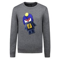 Mens designer sweaters Pullover Brand mens sweater Embroider...