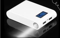 PowerBank 12000MAH Высокая емкость с двойным usb ЖК-индикатор портативной резервной резервной копии Exteranl мобильного батареи зарядное устройство Power Bank