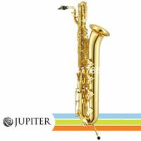 Vaka Aksesuarları Ücretsiz Kargo ile Jüpiter JBS-1000 Bariton Saksafon Bemol Altın Lake Uluslararası müzik aleti