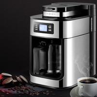 Elektrische Kaffeemaschine Maschine Haushalt vollautomatische Kaffeemaschine 1200ml Tee Kaffeekanne Home Kitchen Appliance 220V