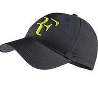 2019 вышивка новейший хлопок Новый 2018 сетки ВС Hat открытый теннис шапки Snapback женщины и мужчины бейсболка Роджер Федерер РФ гибридный шляпа