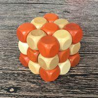 3D Jigsaw Quebra-cabeças Luban Bloqueio Puzzle Cérebro Teaser Brinquedos De Madeira Para Crianças Adultos Potência Intelectual Clássica Para Desbloquear Kong Ming Locks