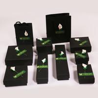 소녀 귀걸이 용 고품질 Applique 보석 상자 종이 보석 상자 귀걸이 반지 쥬얼리 스토리지 선물 상자 케이스