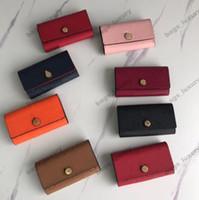 Multi-fonctions clés Sac de haute qualité Portefeuille Célèbre Hommes Femmes Classique Key Holder Couverture de luxe porte-clés sac à poussière, carte Porte-clef Livraison gratuite