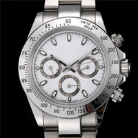 Luxusuhr Herrenuhren Arbeit 6-Pin Uhr Herren Edelstahl Sport Armbanduhr Top Relogies für Diamant Geschenk Montre de Luxe