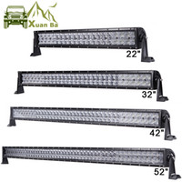 XuanBa 22'' 32'' 42 52 Inch LED Light Bar for 4x4 Off Road Truck Tractor SUV ATV 4WD 12V 24V Combo Beam Driving Work Lamps Straight   Curved