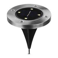LED Güneş Enerjili Zemin Lambası 4 Boncuklu Paslanmaz Çelik Beyaz IşıkBu güneş ışığının bu türü otomatik olarak enerjiyi en yükseğe çıkarmak için kontrol edilir
