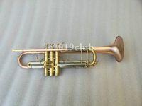 Unbranded personalizzabile Logo nuovo arrivo Bb tromba B Flat strumento musicale di rame dell'annata Bb Tromba ottone con il caso Bocchino