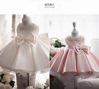 زهرة فتاة فستان الأميرة الطفل منفوش تول فستان الزفاف الديكور الياقة الأول تاريخ الميلاد مساء اللباس E20003