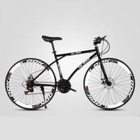 Bisikletler Yol Bisikleti 26 inç Değişken Hız Sabit Dişli Çift Disk Fren Yetişkin Öğrenci Erkekler ve Kadın Bisiklet Dağ Cross Country