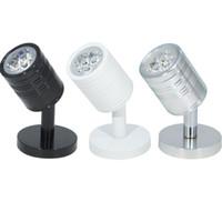 3W / 5W 85-245Vac girişi LED kabin nokta lambası, vitrin tavan lambası, arka spot ışık ayarlı açılı