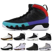 9 9s Chaussures de basket-ball pour hommes Dream It Do It UNC LA Anthracite Bred OG confiture spatiale Athlétisme Sport Baskets taille 7-13