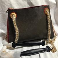 Catena della spalla Bag borse Borse Sacchetti della signora di modo di qualità Monogram inversione Alta grande capacità Coated Canvas pelle bovina genuina veloce