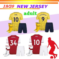 new 19 20 season Arsena red tracksuits 2019 2020 home away s...