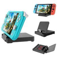 Doca de carregamento para Nintendo Mudar Lite Nintendo, interruptor Lite carregador stand Dock Station com 2 Card Game Slots