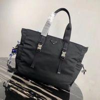 bolsos clásicos 2VG042 de los hombres de gama alta de diseñador diseñador de bolsos de lona de nylon italiana de los hombres maletín estilo casual de negocios