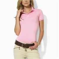 Tshirts Dişiler Moda Tees Kadınlar Yaka Boyun Polos Yaz Tasarımcı Katı Renk Kısa Kollu İnce Casual