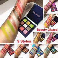 Makyaj Paleti Obsesyonlar Güzellik Sırlı Göz Farı 9 Renkler göz farı Metal mat pırıltılı Yeni çıplak göz farı 9 Stilleri Marka Kozmetik DHL