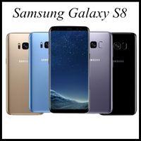 تم تجديده الأصلي سامسونج غالاكسي S8 G950F G950U 5.8 بوصة الثماني الأساسية 4GB RAM 64GB ROM 4G LTE الروبوت مقفلة الهاتف الذكي