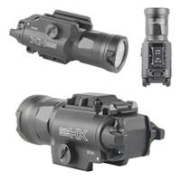 XH35 라이트 1000 루멘 손전등 높은 듀얼 출력 토치 손전등 화이트 밝기 조정 스트로브 신속한 야외 사냥