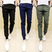 Wholesale-2016 New Mens Skinny Joggers Chinos Slim Pants Men Trousers Hip Hop Pantalones Hombre Plus Size S-XXXL1
