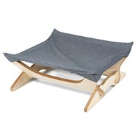 Square Mat Four- pointed Cat Hammock Wooden Removable And Cat...