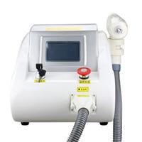 Interruptor Q portátil láser Nd Yag tatuaje eliminación máquina rejuvenecimiento de la piel Dispositivo para salón de belleza o en casa