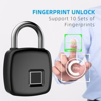 Anytek P3 smart fingerprint locks waterproof USB charge keyl...