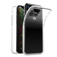 Estoque para o iPhone 12 11 6.1 2019 11 Pro 2mm macio TPU Clear Choque Absorbando Caso de Protetor Capa A