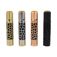 Nuovo arrivo Kennedy Hollowed Out Mechanical Mod 26mm diametro ottone rame kit vap fit 18650 20700 21700 Batteria mod