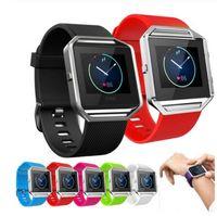 Silikon-Armband-Qualitäts-Ersatz-Handgelenk-Band-Silikon-Bügel für Farbe des Fitbit Flammen-intelligenten Uhr-Armbandes 11