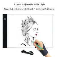 A4 led light pad Graphics Tablet A4 LED Drawing Tablet Thin ...