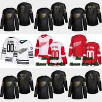 9 Gordie Howe 2019 Golden Edition Detroit Red Wings 12 Sid Abel 17 Filip Hronek 20 Dylan McIlrath 10 Alex Delvecchio 19 Steve Yzerman Jersey