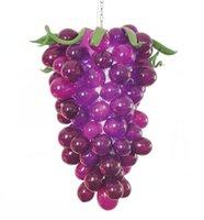 Decoración Mano Europea soplado Forma de la lámpara de cristal ligero árabe uva púrpura del vitral de la lámpara de la lámpara