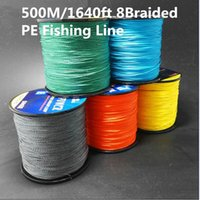 500M 1640ft Cost- effective Super Cast 8 Strands Braided Fish...