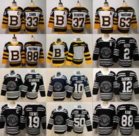 Boston Bruins 2019 Winter Classic Chicago Blackhawks Toews DeBrincat  Patrick Kane Seabrook Crawford Pastrnak Bergeron Marchand Chara Jersey 597cbc62f